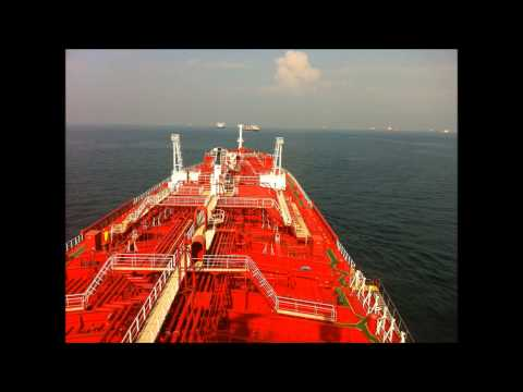 Iver Excel sailing in Singapore Strait