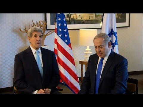 Kerry urges halt in Israeli-Palestinian violence