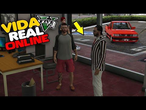 GTA V : VIDA REAL - FUI NA SEGURADORA PEGAR O DINHEIRO DA MOTO !!  #332