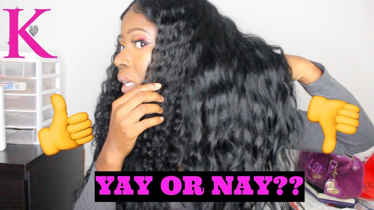 Honest Review Kendra S Boutique Deep Wave Hair W Frontal