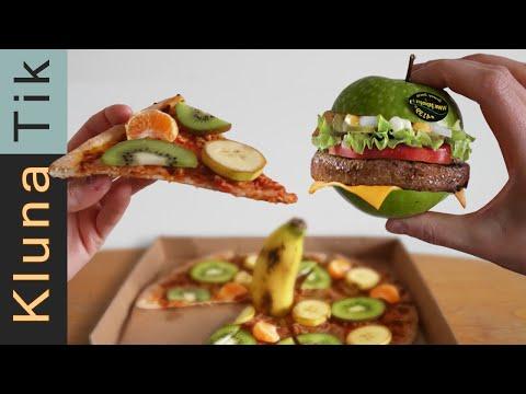 LOW CALORIE PIZZA & HAMBURGER RECIPE