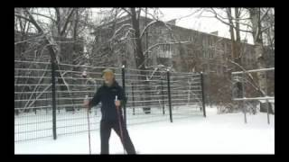 Nordic ( Scandinavian walking with sticks ) | Dance with sticks
