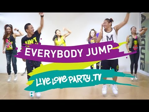 Everybody Jump [VIEW ON DESKTOP] | Zumba | Live Love Party | Dance Fitness