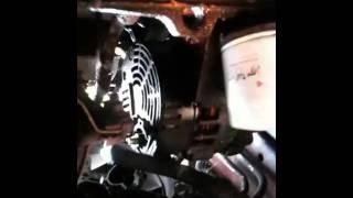 DYI Alternator removal 2001  Hyundai Accent Part 1