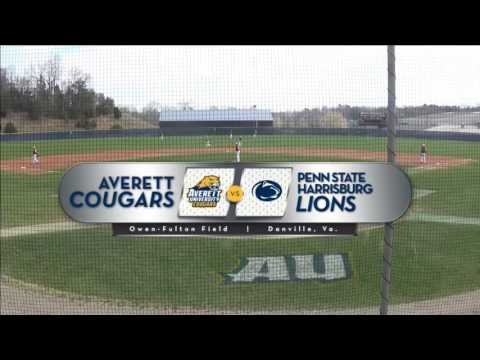 Averett baseball vs. Penn State Harrisburg