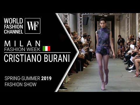 Cristiano Burani | Spring-summer 2019 | Milan fashion week