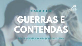 Estudo Bíblico 27/05/2020 Guerras e Contendas
