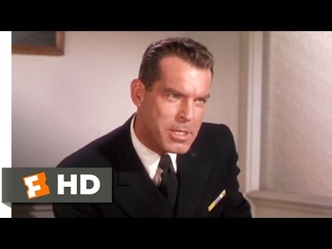 The Caine Mutiny (1954) - Mutineer or Fool Scene (7/9) | Movieclips