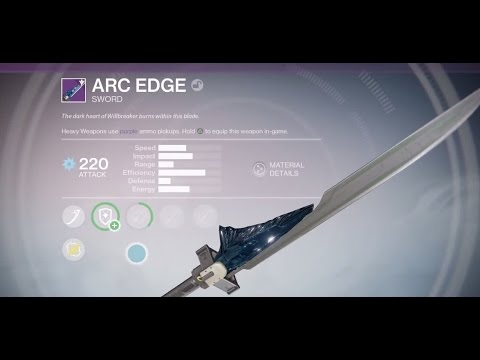 how to get the exotic sword in destiny 2