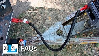 How Do I Shorten or Extend the Length of My DC Electric Winch Wiring Harness?  - FAQs - YouTubeYouTube