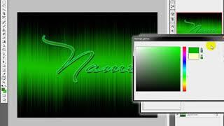 Видео урок Adobe Photoshop CS3 как сделать простую красивую надпись с любым шрифтом