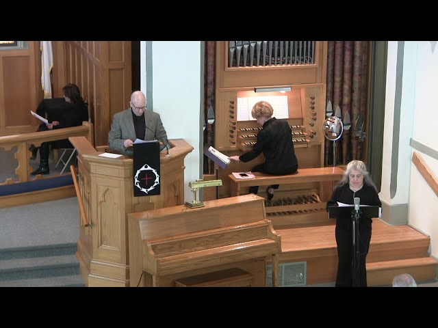 Zion Lutheran, Good Friday Service, April 2nd, 2021
