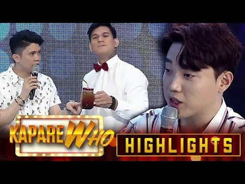 Vhong's tounge twister for Ryan | It's Showtime KapareWho