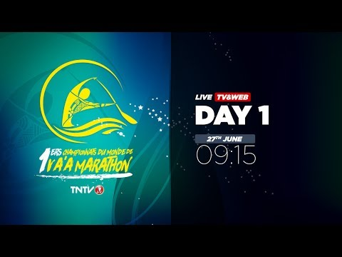 IVF Va'a World Distance Championships 2017 - DAY 1 - English