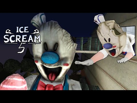 Download Outside of Rod's Factory - Ice Scream 5 Full gameplay | Android Game