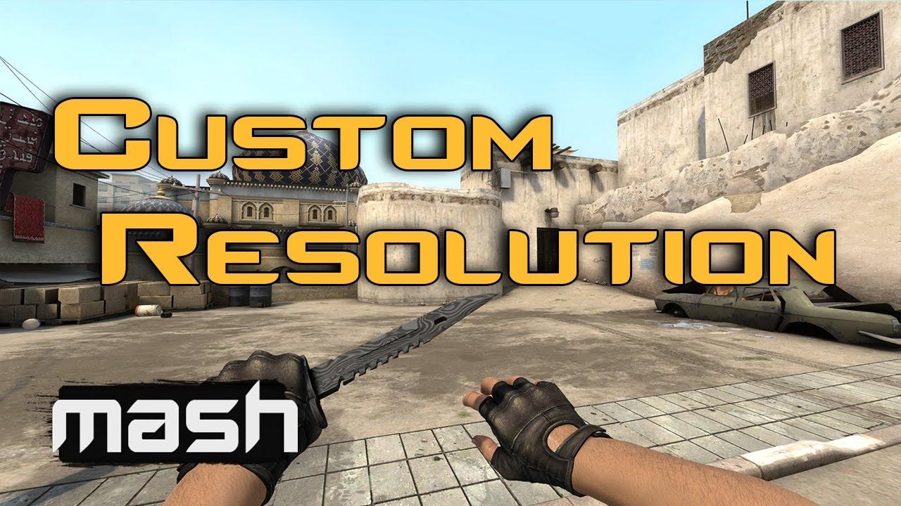 CSGO - Custom Resolutions! 1440x1080! Setup guide for Nvidia Users!