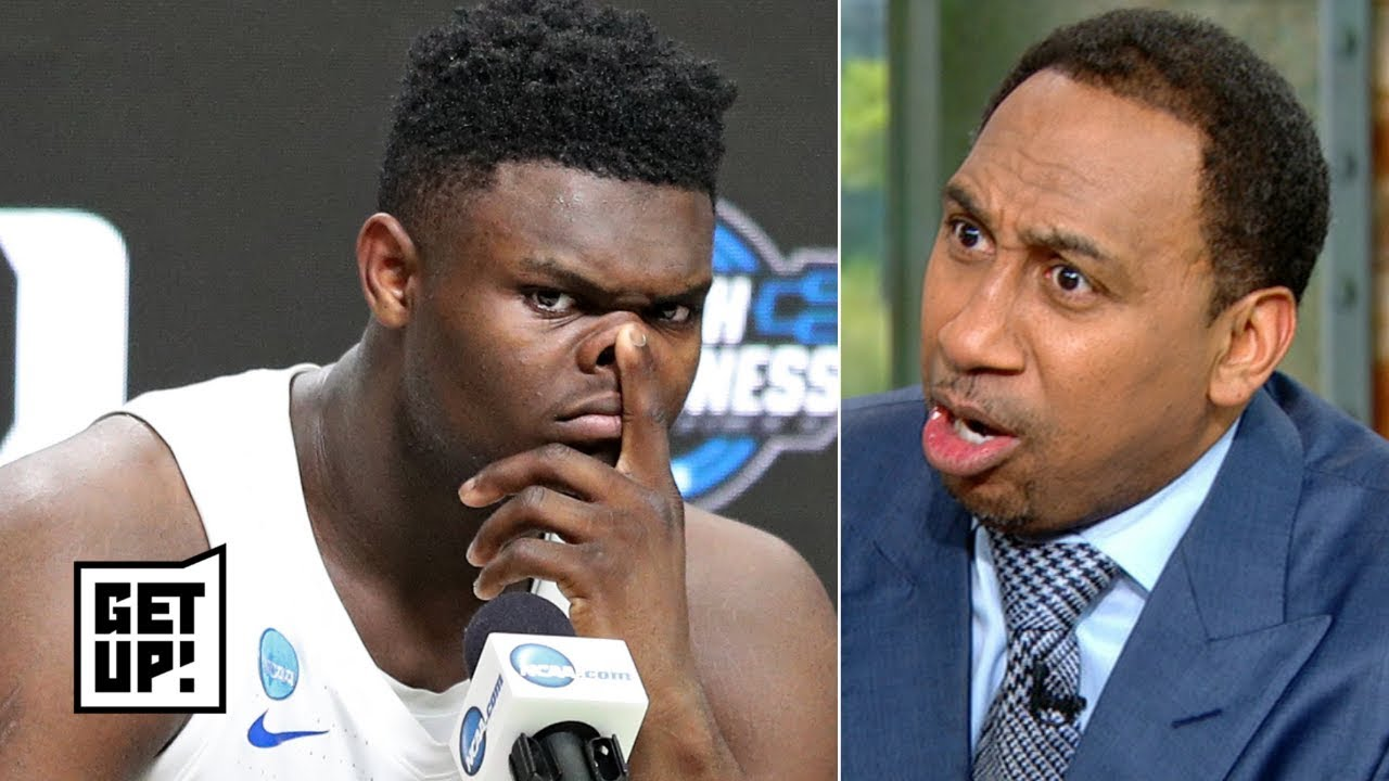 'It was Zion or nothing!' - Stephen A. storms off set, pouts over Knicks losing top pick |