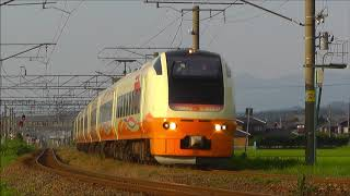 E653系・485系 特急いなほ・快速きらきらうえつ 羽越本線 坂町~平木田間 2018.07.27