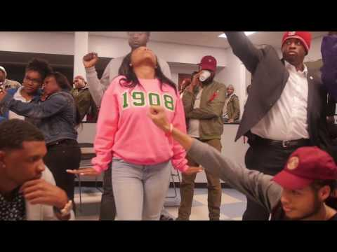 Mannequin Challenge - Different World Theme at Livingstone College