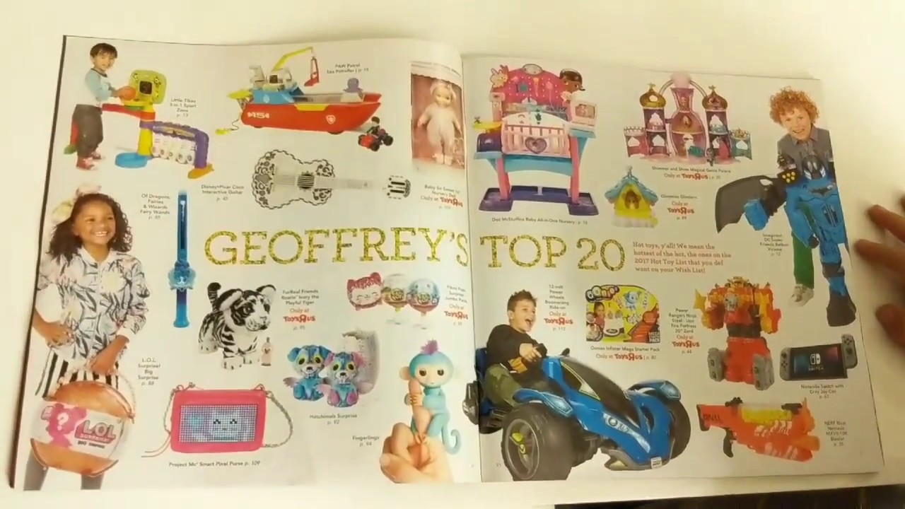 christmas gift ideas big toy book cool toys toys r us ultimate guide to play toy book ad for 2017