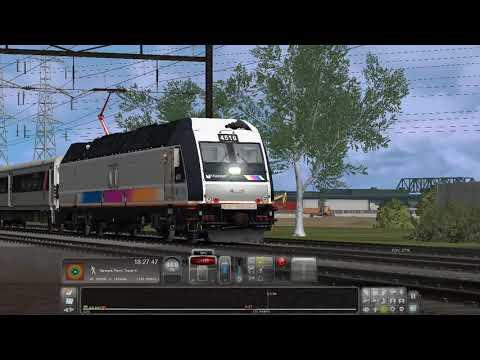 Hobeken To Newark Penn Train Simulator 2019 |