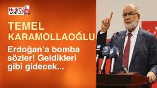 Temel Karamollaoğlu'ndan Erdoğan'a bomba sözler! AKP'liler bundan rahatsız...