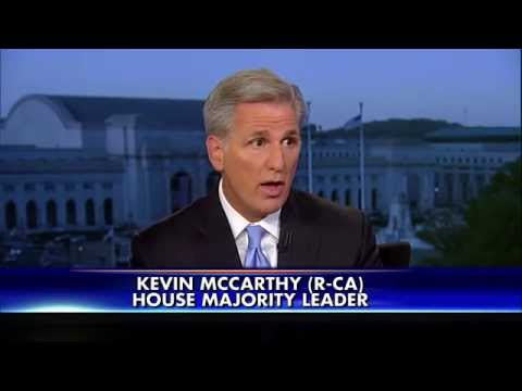 Interview with House Majority Leader Kevin McCarthy