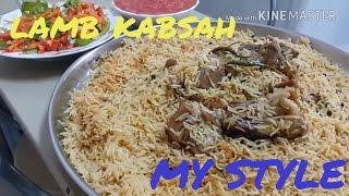 Lamb Kabsah, my style