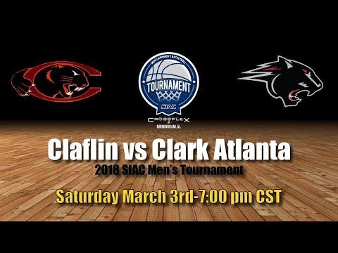 2018 SIAC Men's Championship: Clark Atlanta vs Claflin