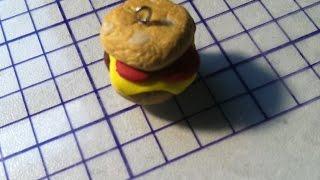Make a Realistic Polyclay Hamburger Charm - DIY Crafts - Guidecentral