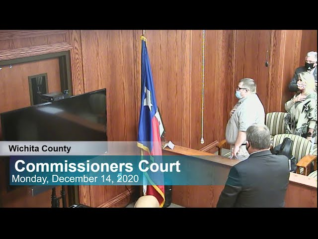 Commissioners Court 12/14/2020