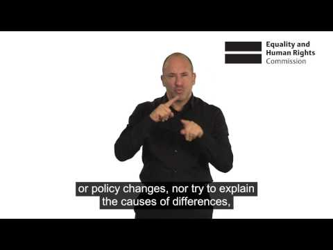 Being disabled in Britain: British Sign Language (BSL) video