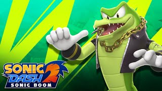 Sonic Dash 2 Sonic Boom - Vector the Crocodile Unlocked and Fully Upgraded Update - All 7 Characters screenshot 4