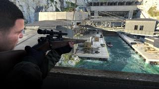 Sniper Elite 4 Gameplay PC - Stealth Kills & Assassinating Hitler