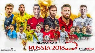 pes 2018 ps3 Next Level 3 2 World Cup Russia