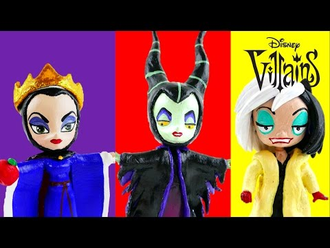 Compilation - My Little Pony Disney Villains The Evil Queen Maleficent Cruella de Vil