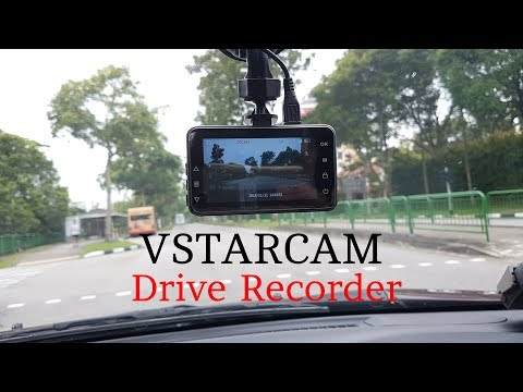 VSTARCAM Dash Camera Review & Unboxing [HD]