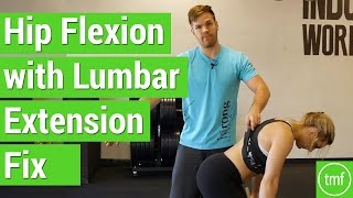 Hip Flexion with Lumbar Extension Fix | Week 18 | Movement Fix Monday | Dr. Ryan DeBell