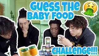 Guess The Baby Food Challenge! | 4K1K