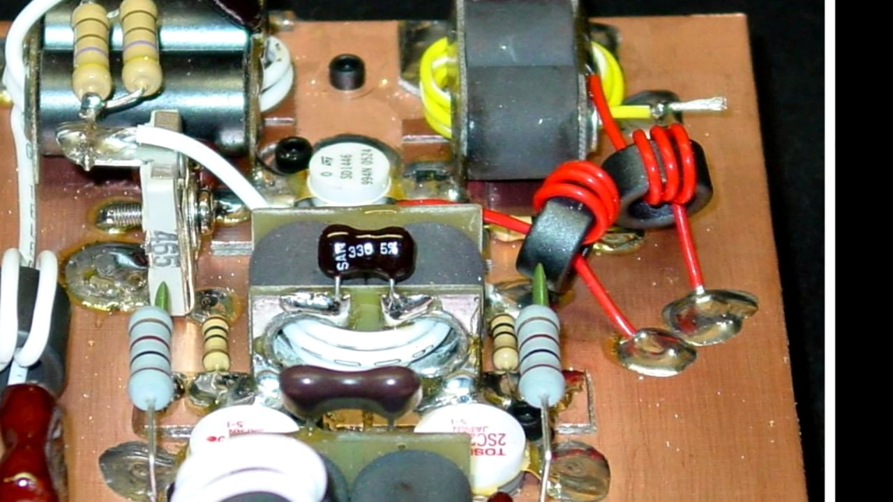 How to build a 3 pill Linear amplifier for 10 & 11 Meter