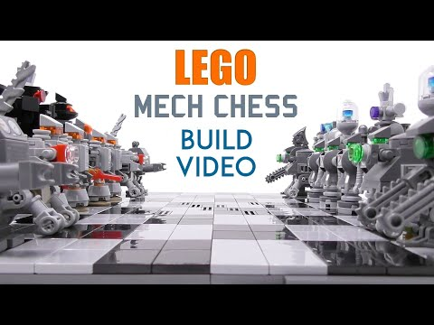 LEGO - Mech Chess - 5000 Sub Special - Stop Motion Build
