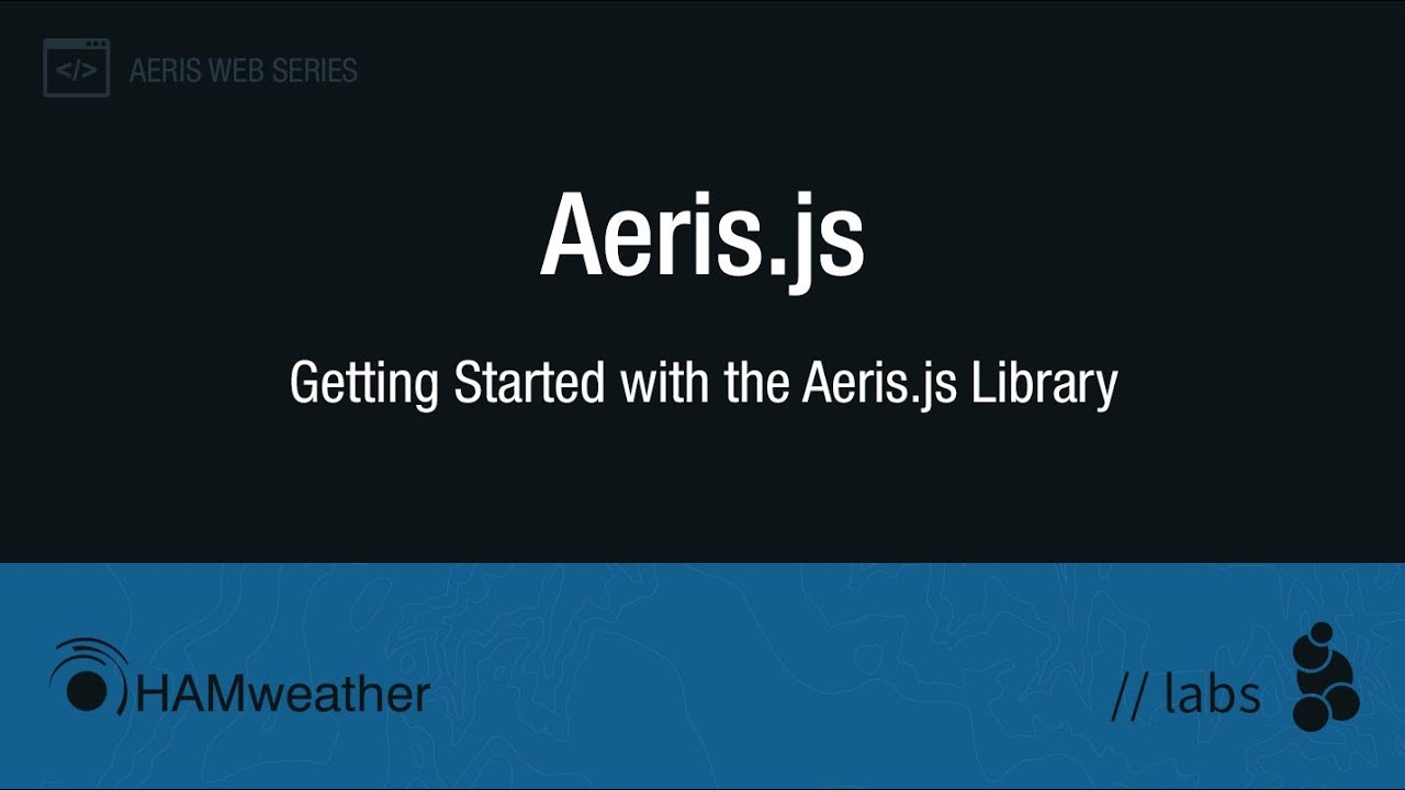 How To Create a Weather Map with Aeris js - AerisWeather