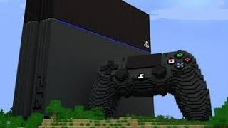 Minecraft: PlayStation®4 Edition Creative mode gameplay
