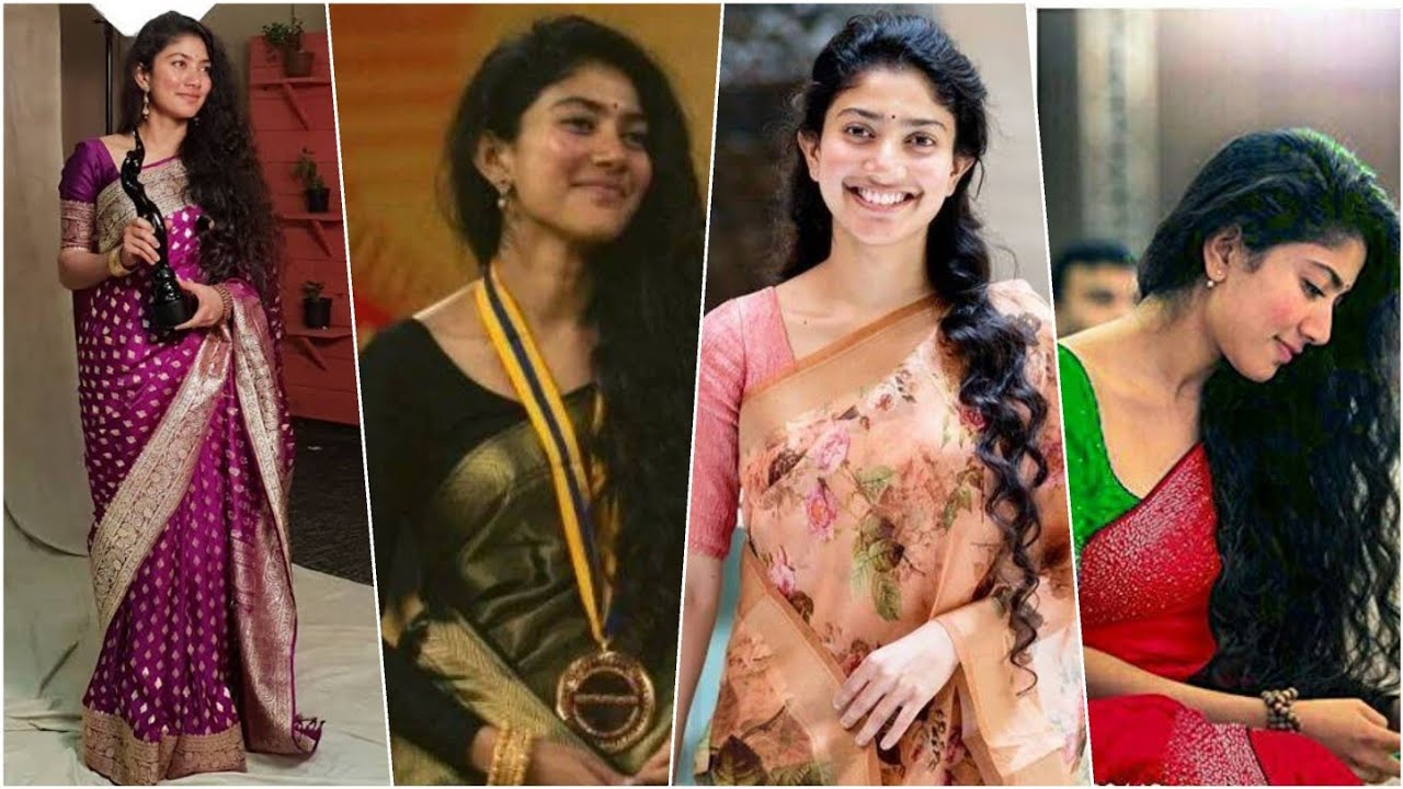 Sai Pallavi saree collections with price|Online saree shopping| Buying Link in description - YouTube