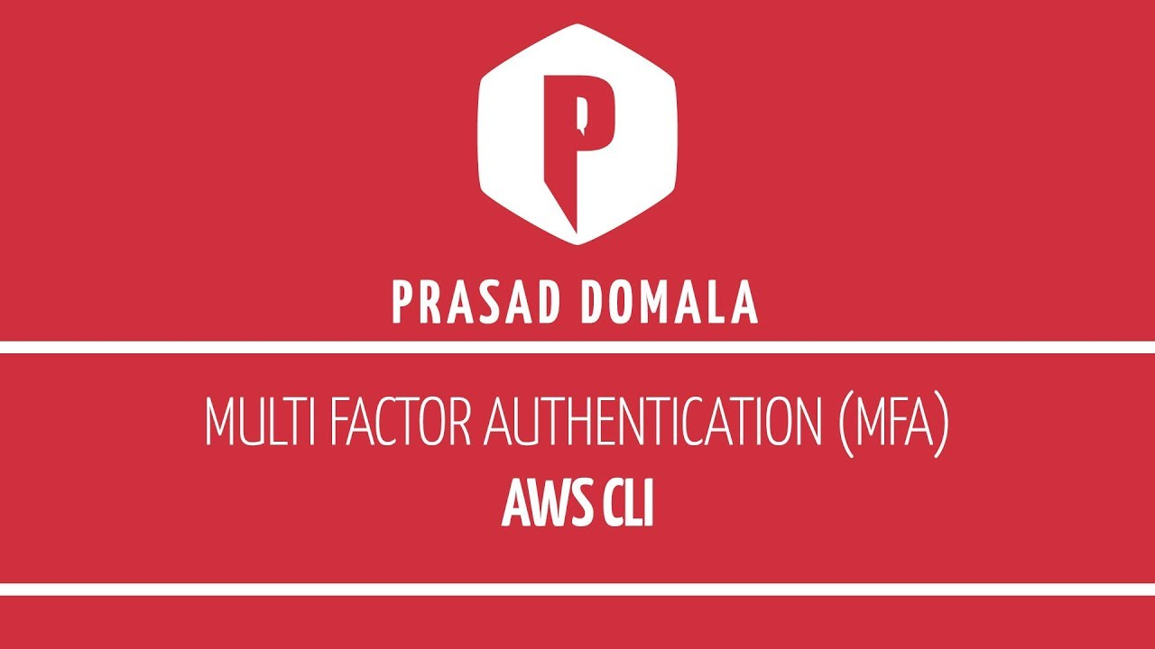 Multi Factor Authentication (MFA) With AWSCLI