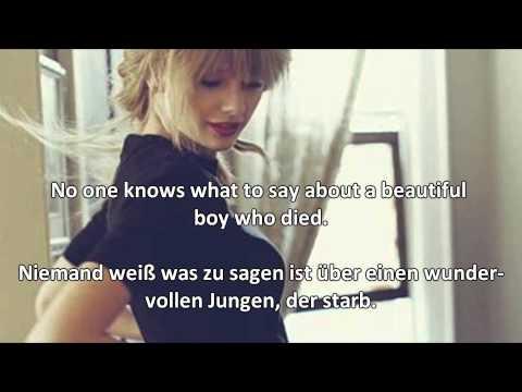 Ronan - Taylor Swift - Lyrics & Deutsche Übersetzung