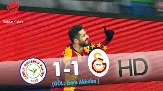 Çaykur Rizespor: 1 - Galatasaray: 1 | Gol: Emre Akbaba