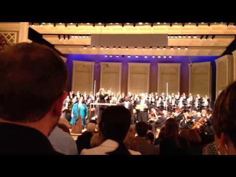 Hallelujah Chorus Cincinnati May Festival 2014