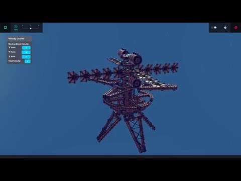 High Altitude Kinetic Bombardment | Fun with Besiege #14