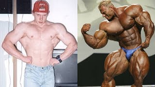 Dennis Wolf transformation from 17 to 39 years old